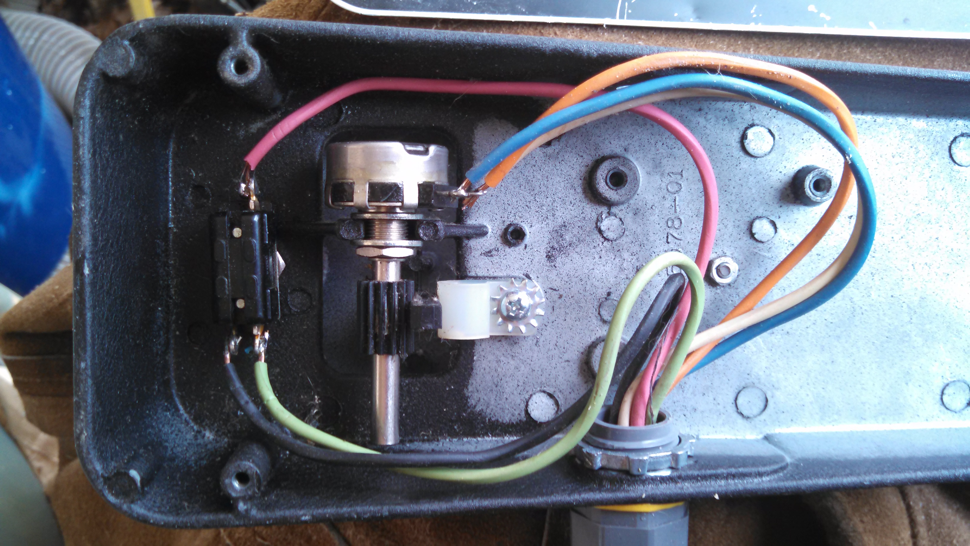 Poor Mans Variable Speed Pedal Other Projects Clarostat Potentiometer Wiring Little Difficult And It Is Kind Of Expensive After Buying Online I Found Out That They Do Carry At Lowes Sell By The Foot Off