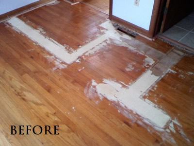 The Previous Owner Removed Some Walls Patched In New Flooring And Refinished